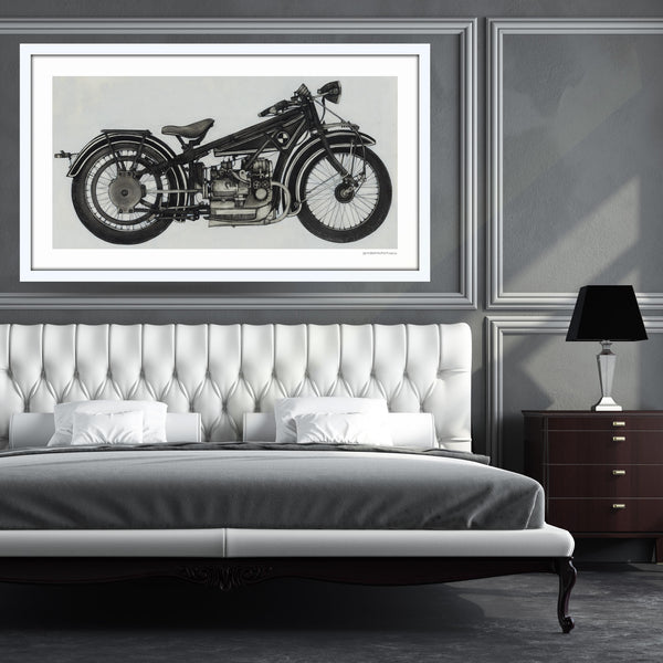 [1923 BMW R3]  [Limited Edition Print]