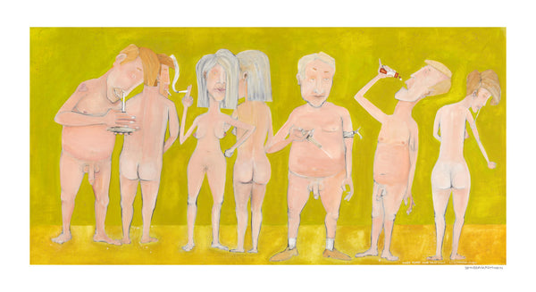 [naked people doing drugs] [limited edition print]