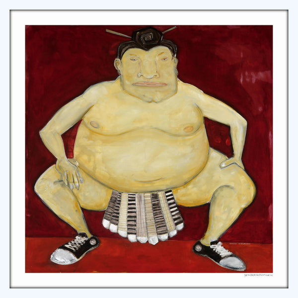 [sumo] [limited edition print]