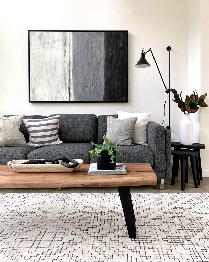 JANGEORGe Interiors and Furniture Contemporary Living Room Coffee Table Tray