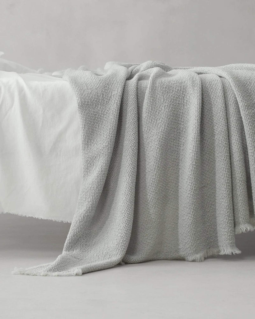 Natural Textures and Linens in Whites and Neutral Tones