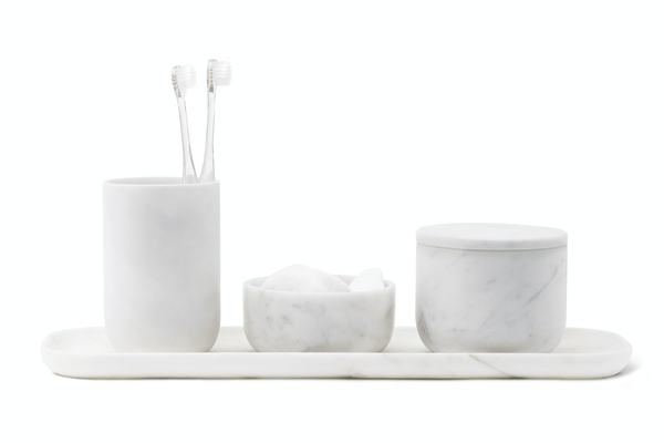 VVD - Bathroom Collection, Carrara Marble Bathroom Set by When Objects Work | JANGEORGe Interior Design