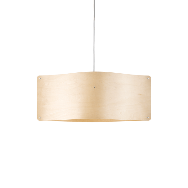 Wide Pendant Large, Flexible Ash Wood by Finom | JANGEORGe Interior Design