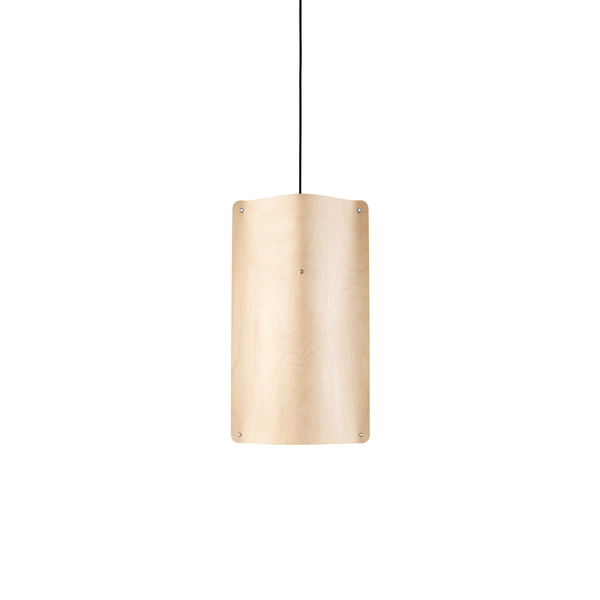 Tall Pendant Medium, Flexible Ash Wood by Finom | JANGEORGe Interior Design