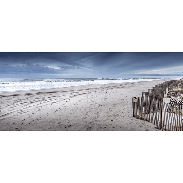 Gibson Beach by George Rutgers, 84x36in (WxH) by George Rutgers | JANGEORGe Interior Design