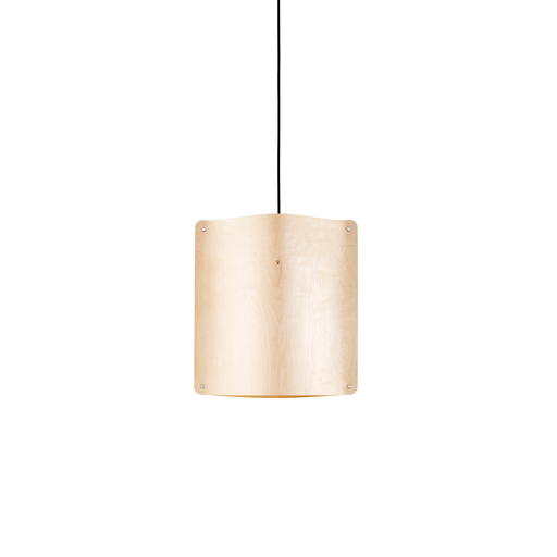 Square Pendant Small, Flexible Ash Wood by Finom | JANGEORGe Interior Design