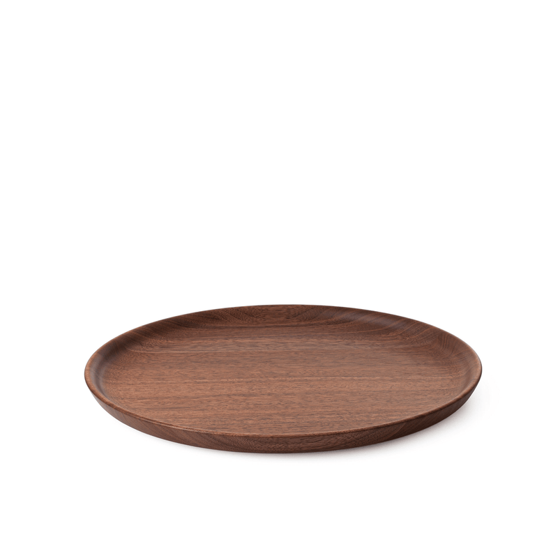 Walnut Plate LL | Hikiyose | JANGEORGe Interior Design