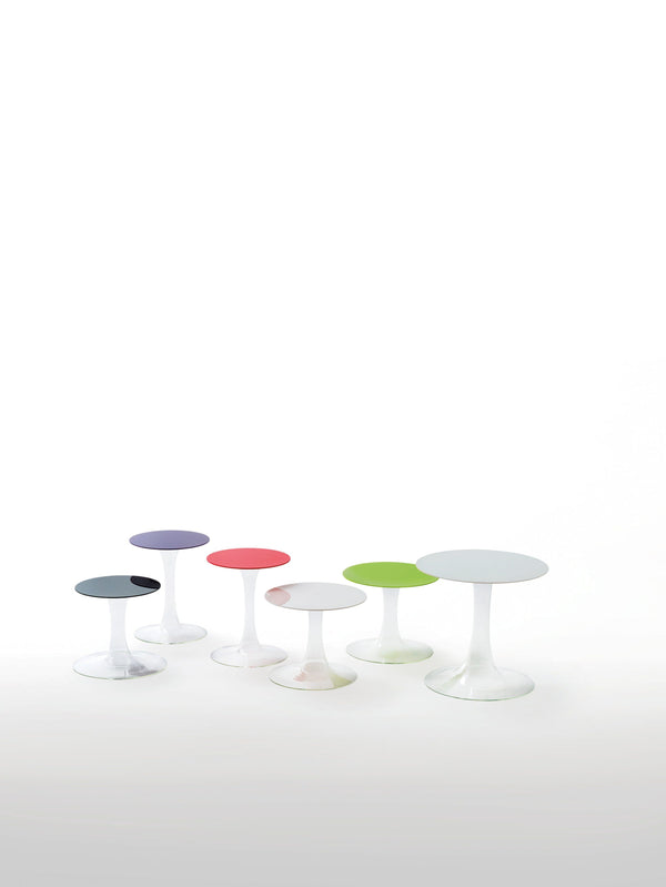 Funghetti Low Glass Table | Glas Italia | JANGEORGe Interior Design