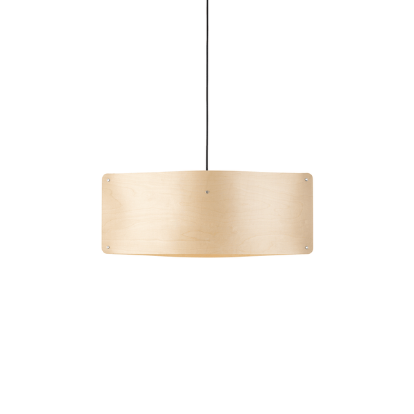 Wide Pendant Small, Flexible Ash Wood | Finom | JANGEORGe Interior Design