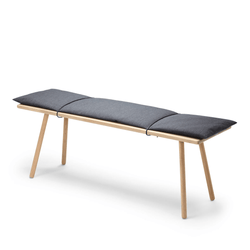 Georg - Bench with Wool Pad by Skagerak | JANGEORGe Interior Design