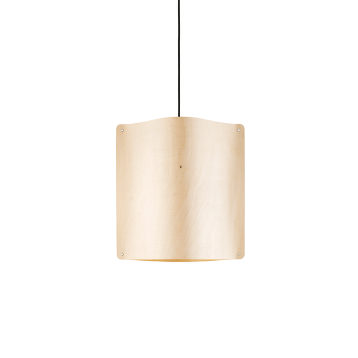 Square Pendant Large, Flexible Ash Wood by Finom | JANGEORGe Interior Design