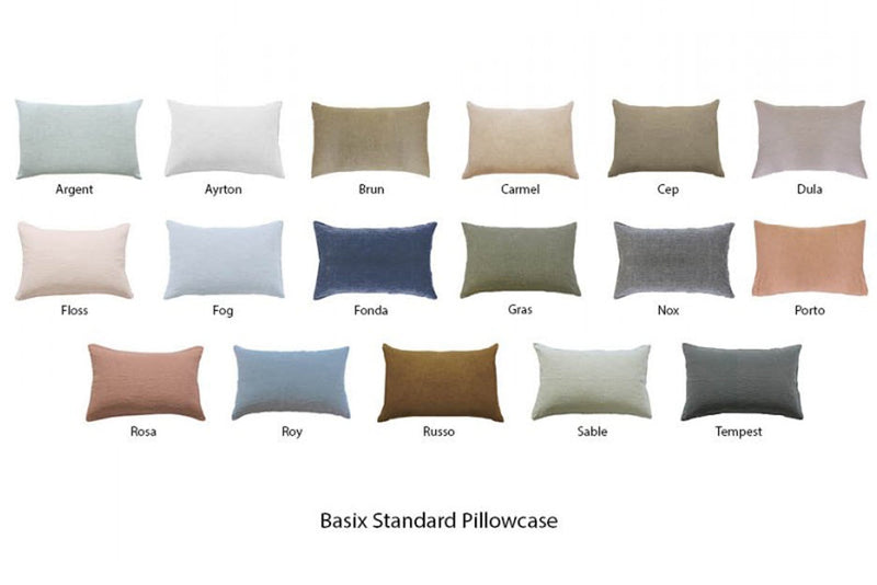 Basix Standard Pillow Case | Hale Mercantile Co. | JANGEORGe Interior Design
