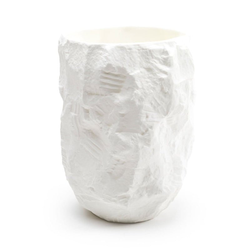 Crockery White - Tall Vase | 1882Ltd | JANGEORGe Interior Design