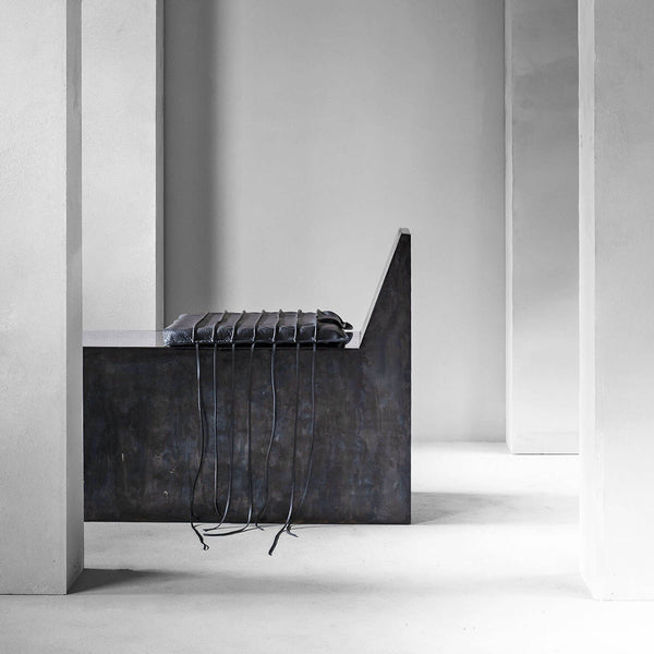 AD Stool 2.0 Optional Leather Cushion | Arno DeClercq | JANGEORGe Interior Design