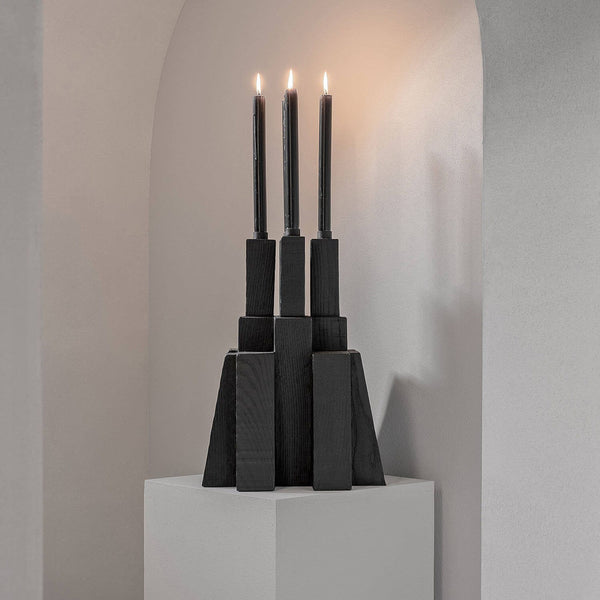 Bunker Candle Holder 2.0 | Arno DeClercq | JANGEORGe Interior Design