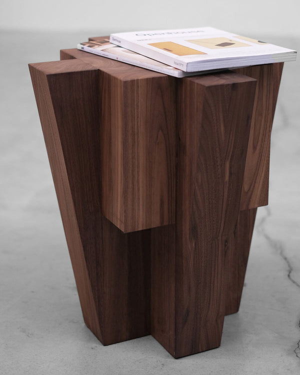 Bunker - Side Table | Arno DeClercq | JANGEORGe Interior Design