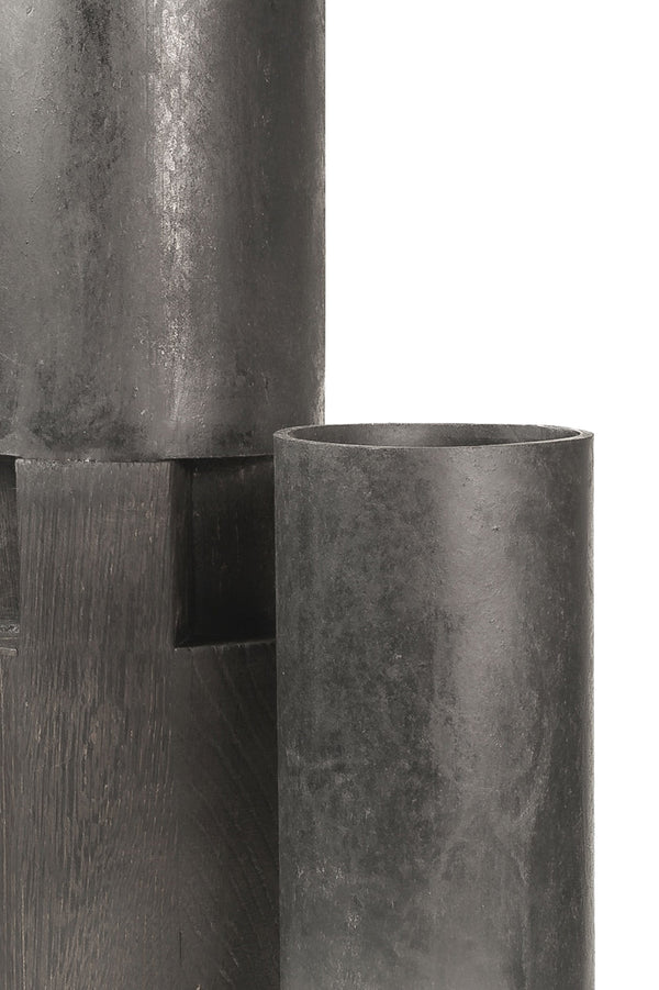 Chimney Series - Hollow waterproof vase by Arno DeClercq | JANGEORGe Interior Design