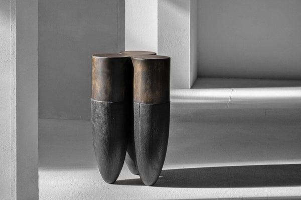 Senufo Side Table | Arno DeClercq | JANGEORGe Interior Design