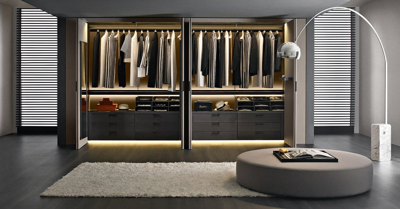 Backstage - Wardrobe by B&B Italia | JANGEORGe Interior Design