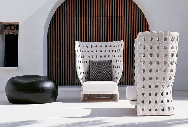 Canasta - Armchair by B&B Italia | JANGEORGe Interior Design