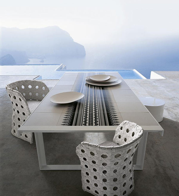 Canasta - Chair by B&B Italia | JANGEORGe Interior Design
