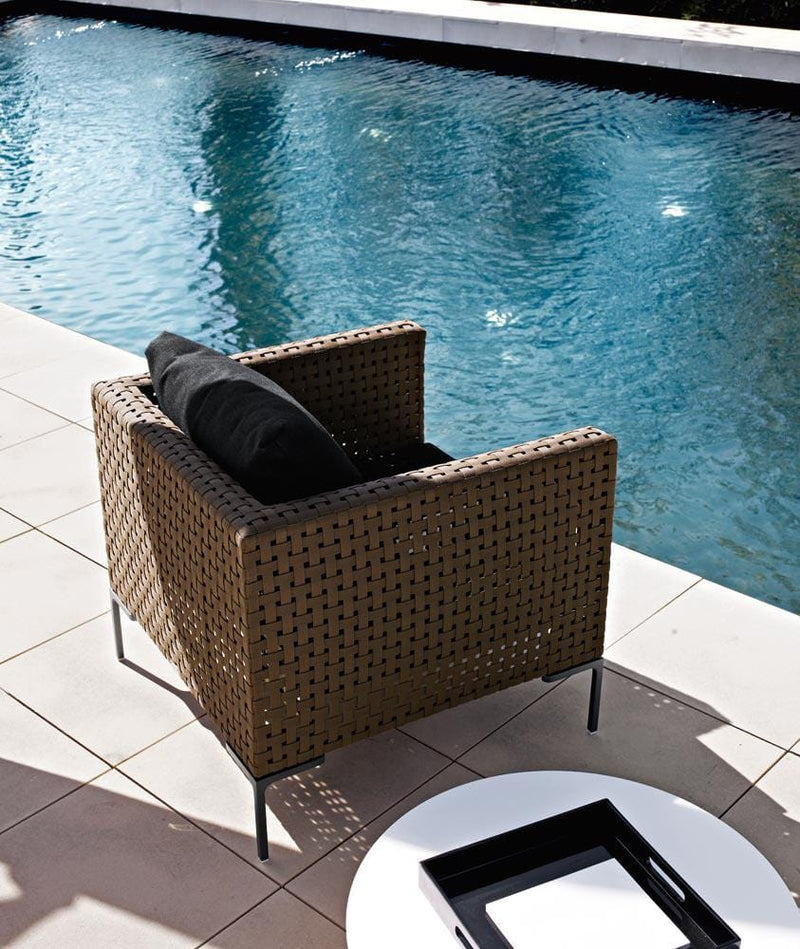 Charles Outdoor - Armchair by B&B Italia | JANGEORGe Interior Design