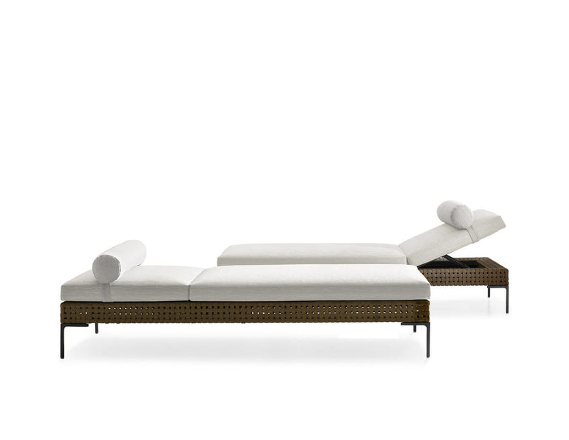 Charles Outdoor - Chaise Longue by B&B Italia | JANGEORGe Interior Design