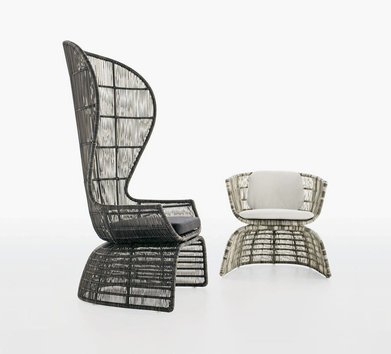 Crinoline Outdoor Armchair | B&B Italia | JANGEORGe Interior Design