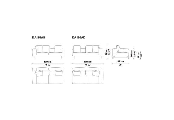 Dock Sofa | B&B Italia | JANGEORGe Interior Design