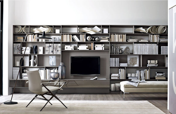 Flat.C - Wall System by B&B Italia | JANGEORGe Interior Design