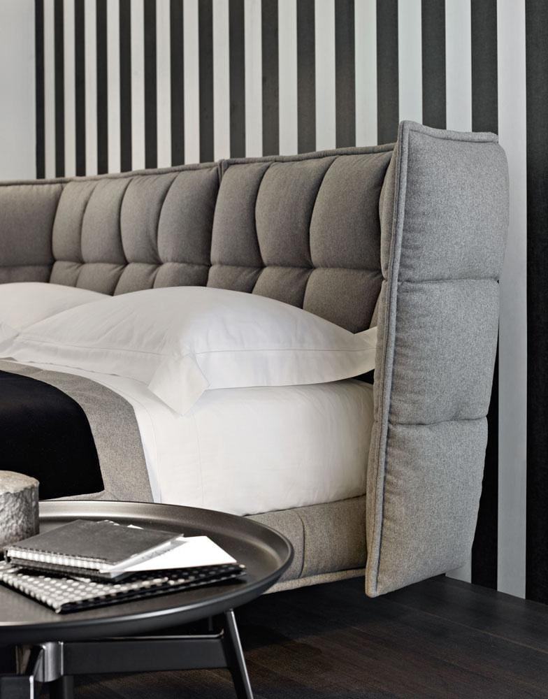 Husk Bed | B&B Italia | JANGEORGe Interior Design