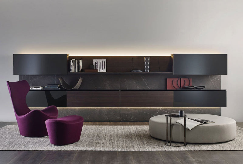 Pab - Wall System by B&B Italia | JANGEORGe Interior Design