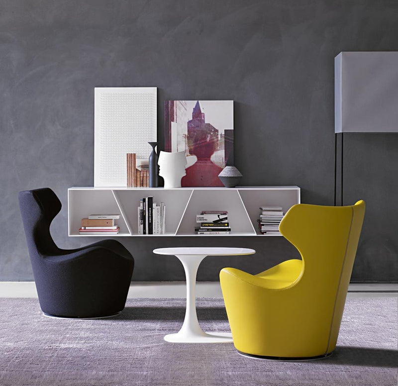 Piccola Papilio Swivel Armchair | B&B Italia | JANGEORGe Interior Design