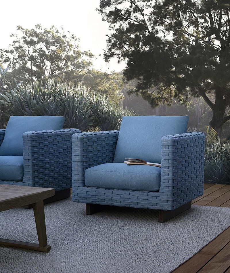 Ray Outdoor Fabric - Armchair by B&B Italia | JANGEORGe Interior Design
