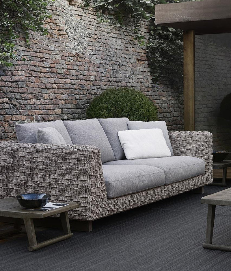 Ray Outdoor Natural Sofa | B&B Italia | JANGEORGe Interior Design