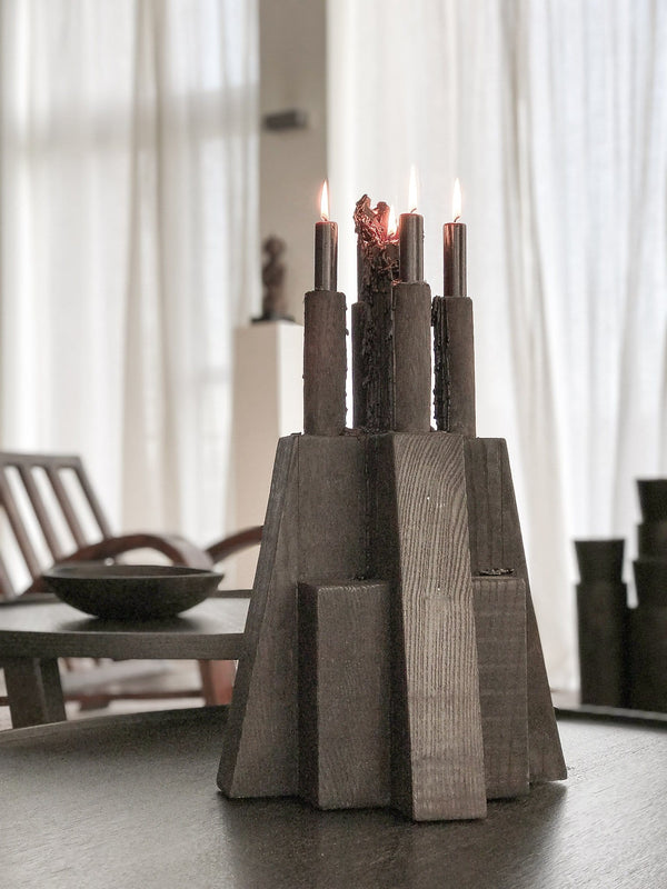 Bunker Candle Holder | Arno DeClercq | JANGEORGe Interior Design