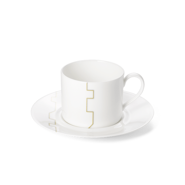 Avenue Gold - SET - Saucer & Coffee Cup 0.25L | Dibbern | JANGEORGe Interior Design