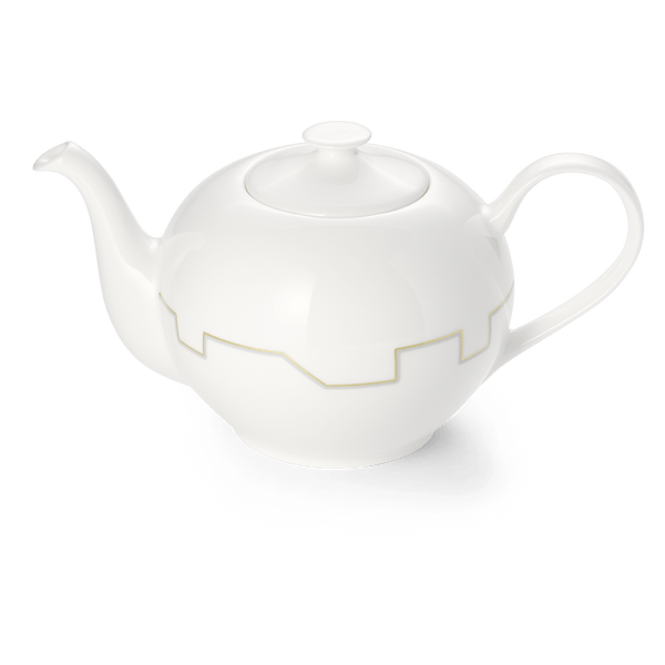 Avenue Gold - Tea Pot 1.3L | Dibbern | JANGEORGe Interior Design
