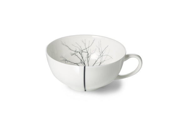 Black Forest Tea Cup with Low Rim - JANGEORGe Interior Design - Dibbern