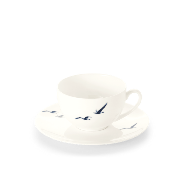 Blue Birds - Set - Saucer & Coffee Cup 0.25L | Dibbern | JANGEORGe Interior Design