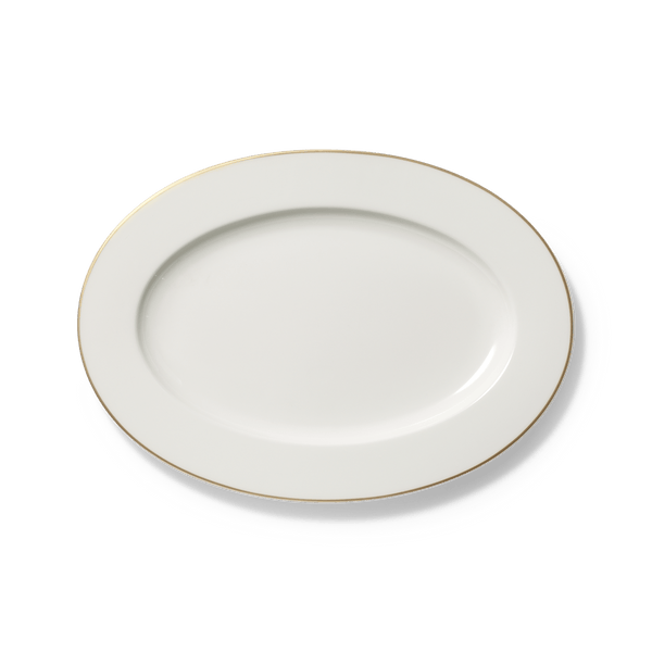 Golden Lane - Oval Platter 13.4in | 34cm (Ø) | Dibbern | JANGEORGe Interior Design