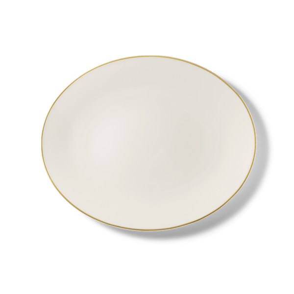 Golden Lane - Oval Platter 12.6in | 32cm (Ø) | Dibbern | JANGEORGe Interior Design