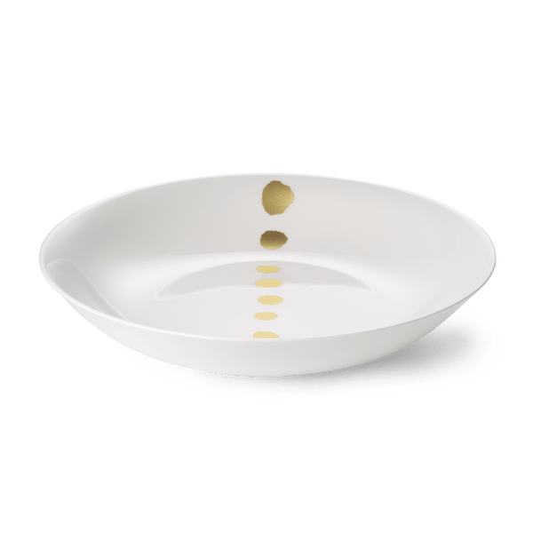 Golden Pearls - Bowl 13in | 33cm (Ø) | Dibbern | JANGEORGe Interior Design