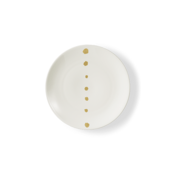 Golden Pearls - Bread Plate 6.3in | 16cm (Ø) | Dibbern | JANGEORGe Interior Design