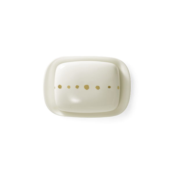 Golden Pearls - Butter Dish | Dibbern | JANGEORGe Interior Design