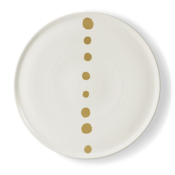 Golden Pearls - Cake Plate 12.6in | 32cm (Ø) | Dibbern | JANGEORGe Interior Design