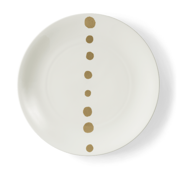 Golden Pearls - Charger Plate 12.6in | 32cm (Ø) | Dibbern | JANGEORGe Interior Design