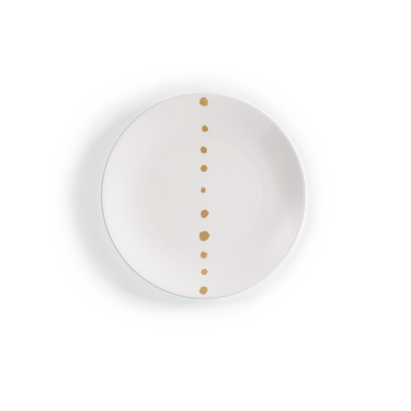 Golden Pearls - Dinner Plate 10.2in | 26cm (Ø) | Dibbern | JANGEORGe Interior Design