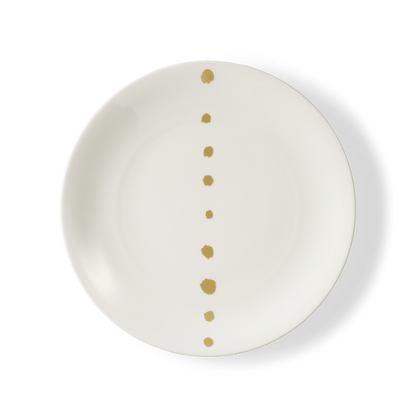 Golden Pearls - Dinner Plate 11in | 28cm (Ø) | Dibbern | JANGEORGe Interior Design