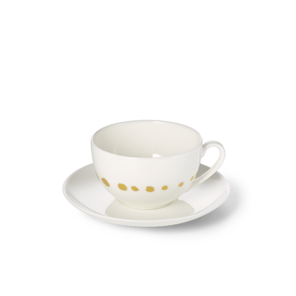 Golden Pearls - SET - Saucer & Coffee Cup 0.25L | Dibbern | JANGEORGe Interior Design